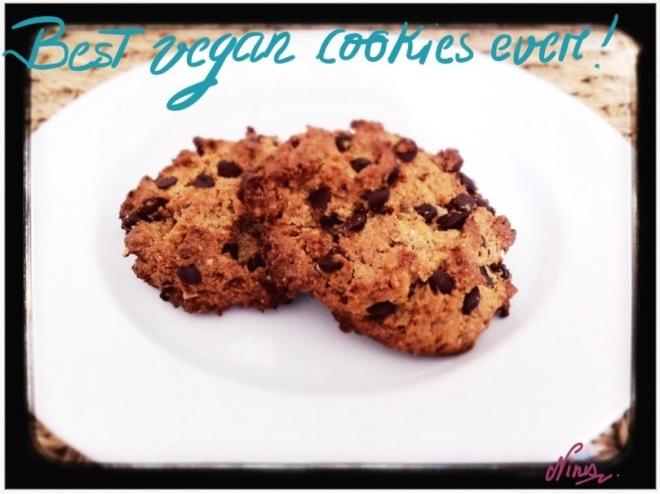 Recettes v ganes cookies banane beurre de cacahu te - Cookies beurre de cacahuete ...